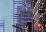 Image of construction New York City USA, 1958, second 54 stock footage video 65675020870