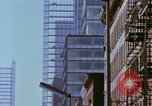 Image of construction New York City USA, 1958, second 55 stock footage video 65675020870