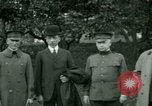 Image of President Woodrow Wilson inspects bomber aircraft Washington DC Bolling Field USA, 1918, second 9 stock footage video 65675020880
