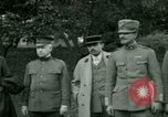 Image of President Woodrow Wilson inspects bomber aircraft Washington DC Bolling Field USA, 1918, second 13 stock footage video 65675020880