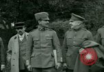 Image of President Woodrow Wilson inspects bomber aircraft Washington DC Bolling Field USA, 1918, second 16 stock footage video 65675020880