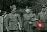 Image of President Woodrow Wilson inspects bomber aircraft Washington DC Bolling Field USA, 1918, second 17 stock footage video 65675020880