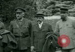 Image of President Woodrow Wilson inspects bomber aircraft Washington DC Bolling Field USA, 1918, second 25 stock footage video 65675020880