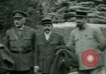 Image of President Woodrow Wilson inspects bomber aircraft Washington DC Bolling Field USA, 1918, second 26 stock footage video 65675020880