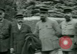 Image of President Woodrow Wilson inspects bomber aircraft Washington DC Bolling Field USA, 1918, second 28 stock footage video 65675020880
