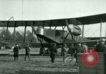 Image of President Woodrow Wilson inspects bomber aircraft Washington DC Bolling Field USA, 1918, second 33 stock footage video 65675020880