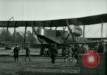 Image of President Woodrow Wilson inspects bomber aircraft Washington DC Bolling Field USA, 1918, second 34 stock footage video 65675020880