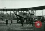 Image of President Woodrow Wilson inspects bomber aircraft Washington DC Bolling Field USA, 1918, second 37 stock footage video 65675020880