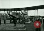 Image of President Woodrow Wilson inspects bomber aircraft Washington DC Bolling Field USA, 1918, second 41 stock footage video 65675020880