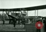 Image of President Woodrow Wilson inspects bomber aircraft Washington DC Bolling Field USA, 1918, second 42 stock footage video 65675020880