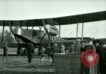 Image of President Woodrow Wilson inspects bomber aircraft Washington DC Bolling Field USA, 1918, second 43 stock footage video 65675020880