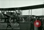 Image of President Woodrow Wilson inspects bomber aircraft Washington DC Bolling Field USA, 1918, second 45 stock footage video 65675020880
