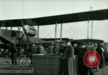 Image of President Woodrow Wilson inspects bomber aircraft Washington DC Bolling Field USA, 1918, second 48 stock footage video 65675020880