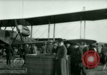Image of President Woodrow Wilson inspects bomber aircraft Washington DC Bolling Field USA, 1918, second 49 stock footage video 65675020880