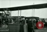 Image of President Woodrow Wilson inspects bomber aircraft Washington DC Bolling Field USA, 1918, second 51 stock footage video 65675020880
