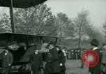 Image of President Woodrow Wilson inspects bomber aircraft Washington DC Bolling Field USA, 1918, second 55 stock footage video 65675020880