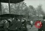 Image of President Woodrow Wilson inspects bomber aircraft Washington DC Bolling Field USA, 1918, second 57 stock footage video 65675020880