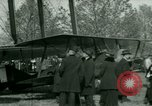 Image of President Woodrow Wilson inspects bomber aircraft Washington DC Bolling Field USA, 1918, second 62 stock footage video 65675020880