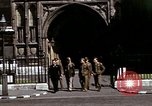 Image of Allied troops in London during World War II London England United Kingdom, 1944, second 45 stock footage video 65675020892