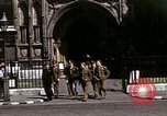 Image of Allied troops in London during World War II London England United Kingdom, 1944, second 46 stock footage video 65675020892