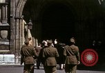 Image of Allied troops in London during World War II London England United Kingdom, 1944, second 52 stock footage video 65675020892