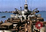 Image of Resupply of invasion forces Normandy France, 1944, second 48 stock footage video 65675020903