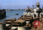 Image of Resupply of invasion forces Normandy France, 1944, second 51 stock footage video 65675020903