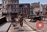 Image of Allies in Cherbourg Cherbourg Normandy France, 1944, second 42 stock footage video 65675020904