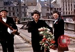 Image of Allies in Cherbourg Cherbourg Normandy France, 1944, second 44 stock footage video 65675020904