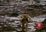 Image of Allied troops advancing through ruins and beach obstacles Valognes France, 1944, second 55 stock footage video 65675020907