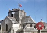 Image of fishing village Barfleur France, 1944, second 8 stock footage video 65675020908