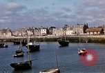 Image of fishing village Barfleur France, 1944, second 25 stock footage video 65675020908