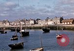 Image of fishing village Barfleur France, 1944, second 26 stock footage video 65675020908