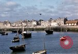 Image of fishing village Barfleur France, 1944, second 27 stock footage video 65675020908