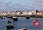 Image of fishing village Barfleur France, 1944, second 28 stock footage video 65675020908