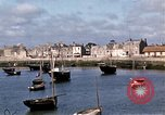 Image of fishing village Barfleur France, 1944, second 29 stock footage video 65675020908