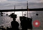 Image of fishing village Barfleur France, 1944, second 32 stock footage video 65675020908