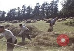 Image of French farmers France, 1944, second 21 stock footage video 65675020910