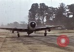 Image of P-47 and P-38 aircraft operating from St.Mere Eglise Saint Mere Eglise France, 1944, second 7 stock footage video 65675020911