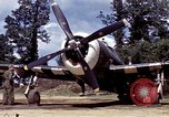 Image of P-47 and P-38 aircraft operating from St.Mere Eglise Saint Mere Eglise France, 1944, second 32 stock footage video 65675020911