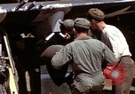 Image of P-47 and P-38 aircraft operating from St.Mere Eglise Saint Mere Eglise France, 1944, second 58 stock footage video 65675020911