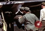 Image of P-47 and P-38 aircraft operating from St.Mere Eglise Saint Mere Eglise France, 1944, second 60 stock footage video 65675020911