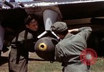 Image of P-47 and P-38 aircraft operating from St.Mere Eglise Saint Mere Eglise France, 1944, second 62 stock footage video 65675020911