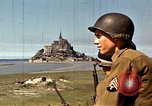 Image of War correspondents visiting Mont Saint Michel and Saint Malo France, 1944, second 15 stock footage video 65675020912