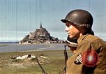 Image of War correspondents visiting Mont Saint Michel and Saint Malo France, 1944, second 18 stock footage video 65675020912