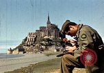 Image of War correspondents visiting Mont Saint Michel and Saint Malo France, 1944, second 19 stock footage video 65675020912