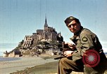 Image of War correspondents visiting Mont Saint Michel and Saint Malo France, 1944, second 23 stock footage video 65675020912