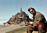 Image of War correspondents visiting Mont Saint Michel and Saint Malo France, 1944, second 24 stock footage video 65675020912