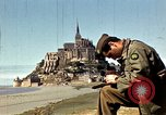Image of War correspondents visiting Mont Saint Michel and Saint Malo France, 1944, second 25 stock footage video 65675020912