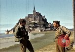 Image of War correspondents visiting Mont Saint Michel and Saint Malo France, 1944, second 26 stock footage video 65675020912